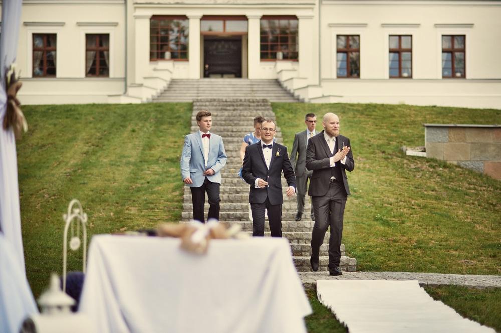 ślub plenerowy Hanza Pałac Rulewo